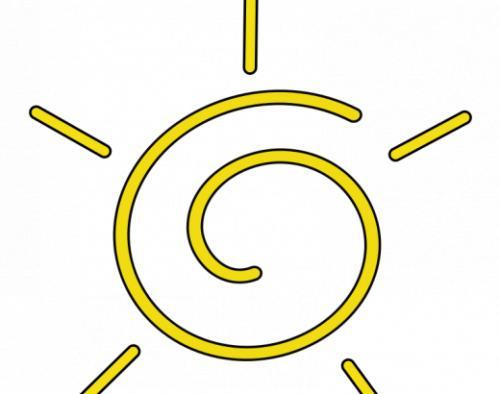关于描写太阳的句子