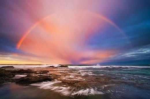 雨后的彩虹句子
