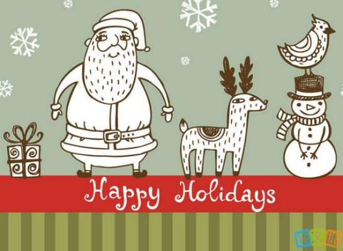 圣诞节的祝福短信