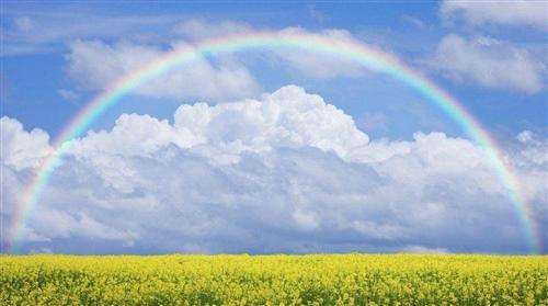彩虹的正能量句子 朋友圈发彩虹配的文字